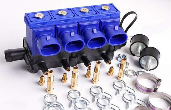 bd558fceb83 Iseloomulik erinevus gaasi pihustid OMVL analoogidest on komposiitplastist  valmistatud ja mõlema poole gaasi ühendamise võimalus.